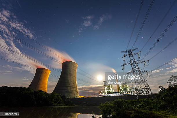 thermal power plant - atomic imagery 個照片及圖片檔