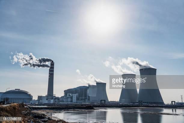 thermal power plants - 火力発電所 ストックフォトと画像