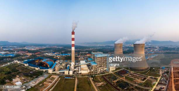 thermal power station - atomic imagery stock pictures, royalty-free photos & images