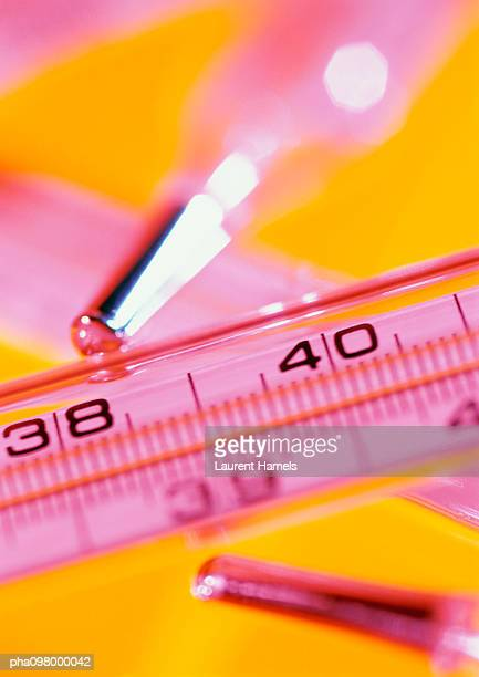 Thermometers, close-up