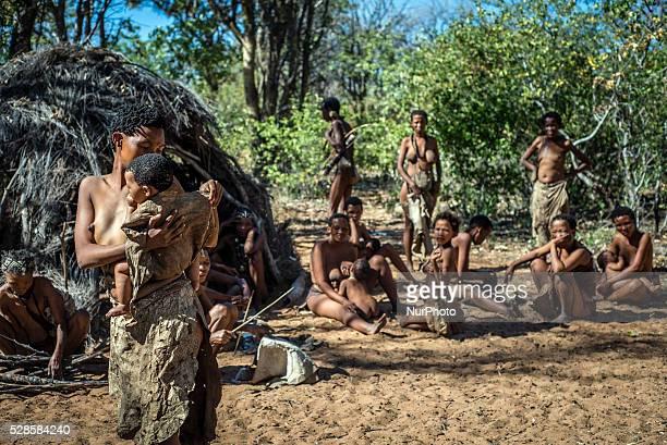 The��San��people from Grashoek Living Museum of the JuHoansiSan Namibia