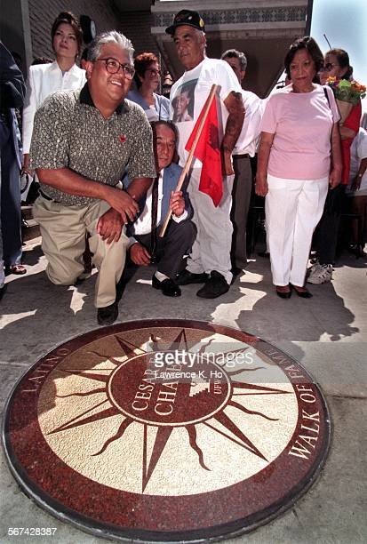 97–08–01 –– 'These are leaders who fought for Latinos and they are great examples for the youth of East Los Angeles' said Paul Chavez East Los...