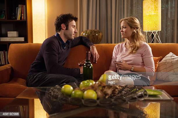 PARENTHOOD These Are The Times We Live In Episode 607 Pictured Coby Ryan McLaughlin as Chris Jeffries Erika Christensen as Julia BravermanGraham