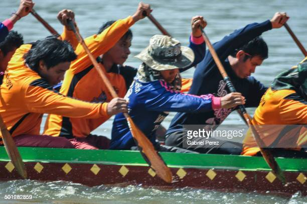 CONTENT] These boat races take place on the Moon River in Northeastern Thailand The photo was taken on November 11 2011