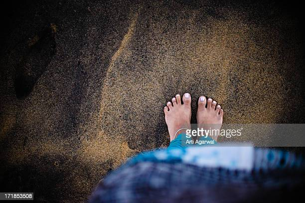These Feet Were Meant for Walking - Pondicherry