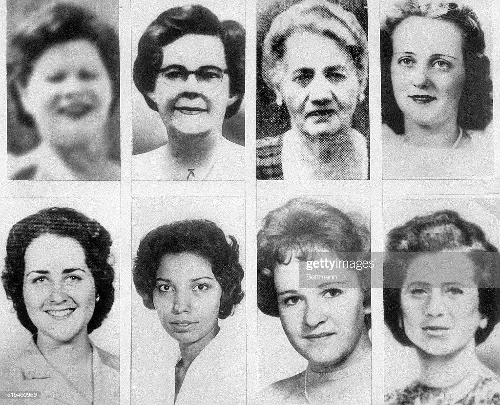Portraits of Eight Boston Strangler Victims : Nachrichtenfoto