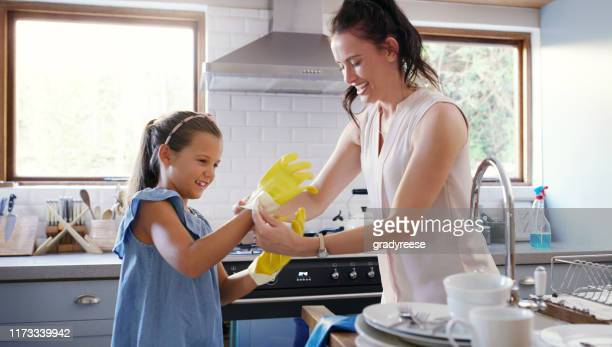 these gloves are a must honey - washing up glove stock pictures, royalty-free photos & images