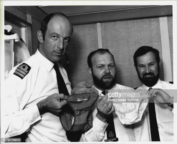 These knickers are certainly not in a knot but they have created a total ban on the sale by visiting sailors of souvenirs while in Australian ports...