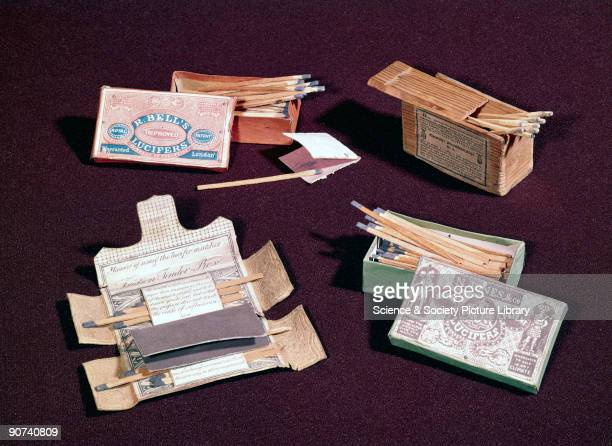 These matches were known as lucifers and congreves. Lucifers were a straight copy of John Walker's original friction lights of 1826-7, and were...