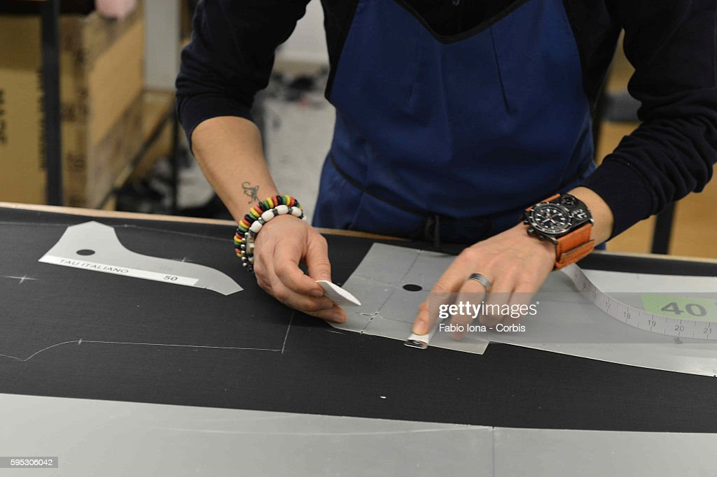 Italy - Brioni Fashion Manufaction in Penne : News Photo