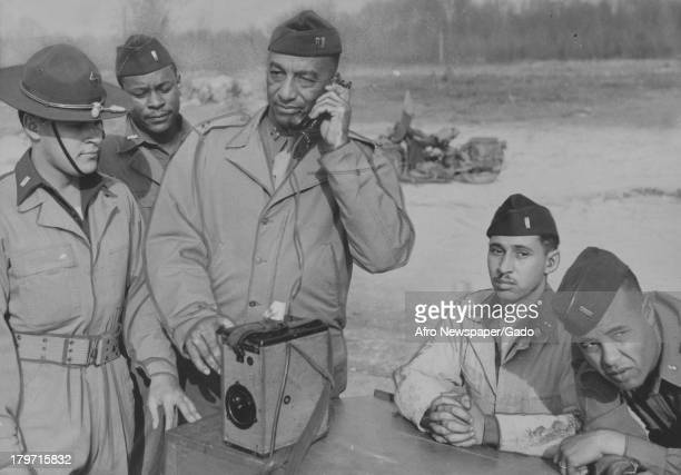 These soldiers were photographed at Aberdeen Proving Grounds Aberdeen Maryland November 17 1942