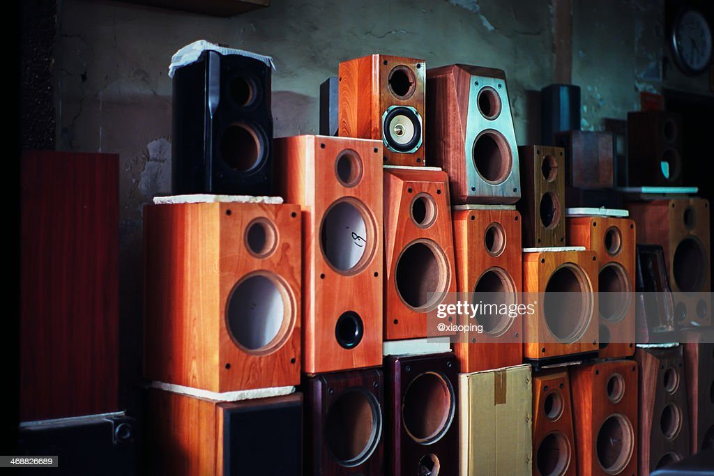 These speaker : Stock Photo