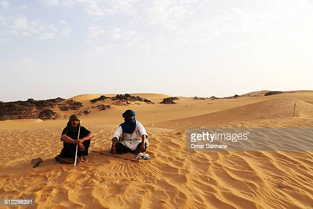 These Tuareg volunteer to protect the heritage of their forefathers. You will find them near all the key historic and ancient spots in the Algerian...