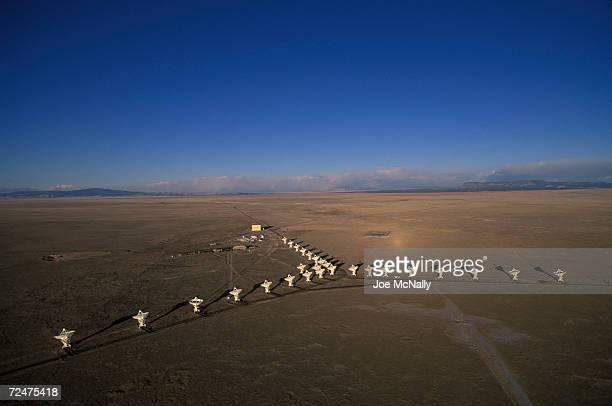 These twenty-seven moveable antennas, known as the Very Large Array , take in radio signals, some extremely faint, from throughout the cosmos near...