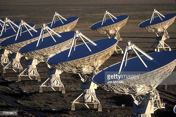These twenty-seven moveable antennas, known as the Very Large Array , take in radio signals, some extremely faint, from throughout the cosmos, 1999...