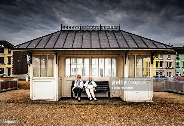 These two lovely old ladies kindly posed for me as i captured just what old ladies like to do whilst at the seaside.Taken on the seafront at Herne...