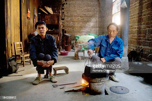 These two men were widowers, not a nice fate for poor men in China. Without money, these farmers will not be able to attract new wives and therefore...