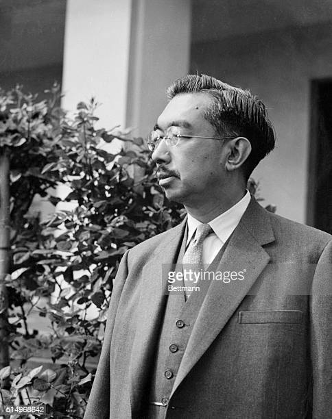 These two photos are the latest pictures of Emperor Hirohito of Japan, released by the Imperial Household Agency on the occasion of the emperor's...