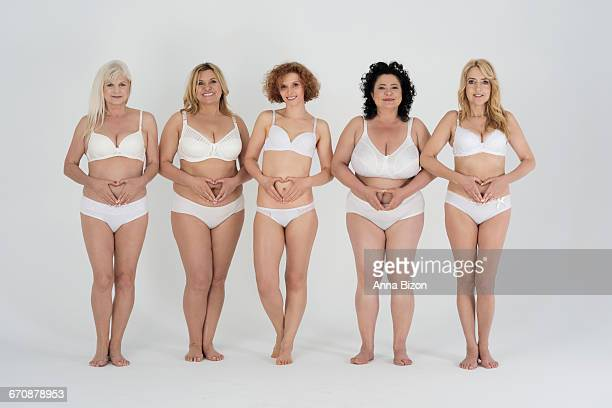 These women love their bodies. Debica, Poland