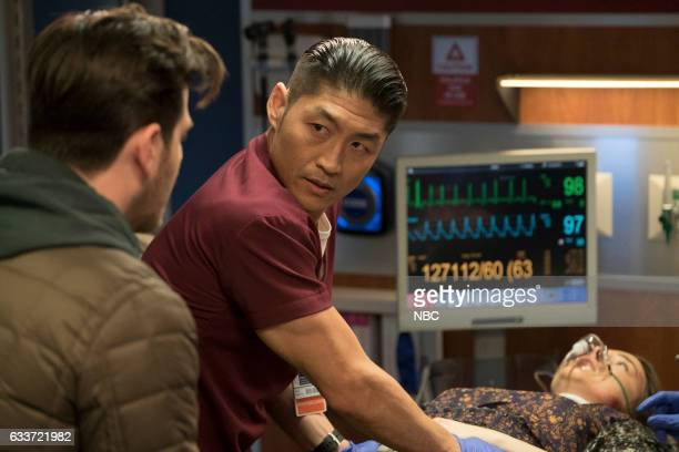 MED Theseus' Ship Episode 213 Pictured Brian Tee as Ethan Choi