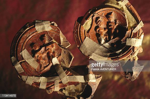 Thessaloniki Ancient Ruins Erotic On February 1st 1999 In SalonicaGreece Couples On Oil Lamps