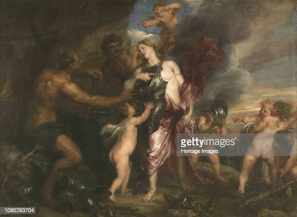 Thetis receiving Armour for Achilles from Hephaestus Between 1630 and 1632 Found in the Collection of Sanssouci Potsdam
