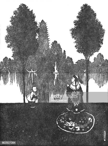 They Adored the City the Palace and the Garden' c1930 An illustration from 'The Nightingale' by Hans Christian Andersen From Hans Andersen's Fairy...