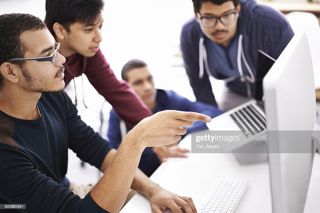 They all give great input for the project : Stock Photo