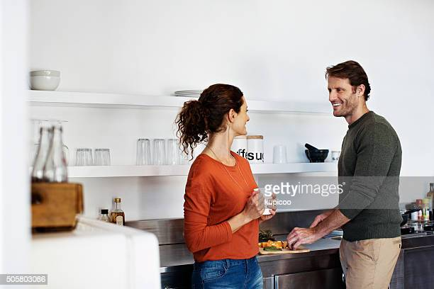 They always cook as a couple