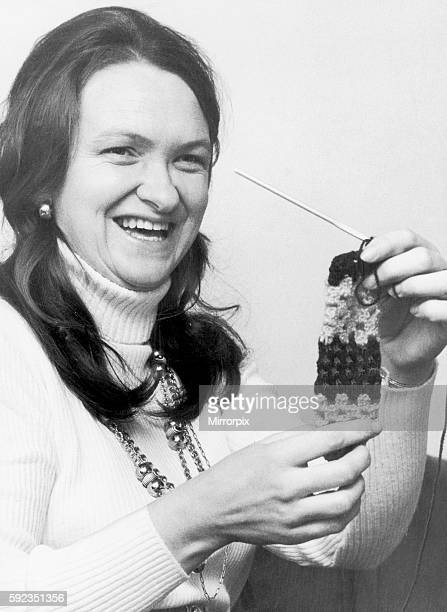 They are hand crocheted and sure to keep out January's icy blasts If you know how to wear them of course For cheeky housewife Jill Wills who makes...