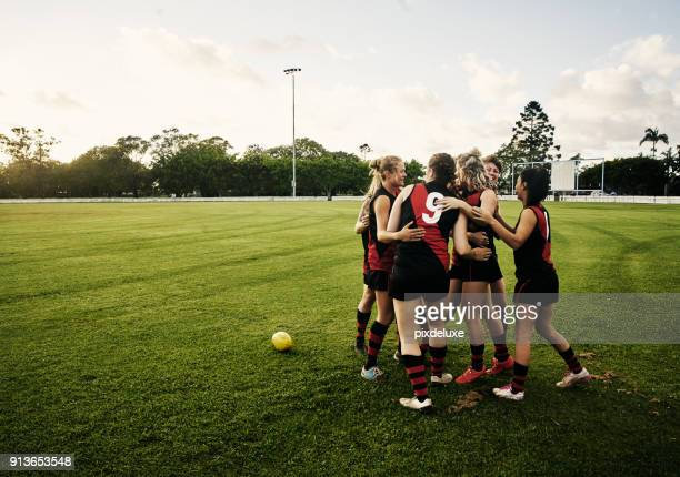 they are passionate about their sport - afl stock pictures, royalty-free photos & images