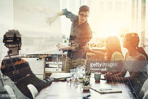 they are right on track - business strategy stock photos and pictures