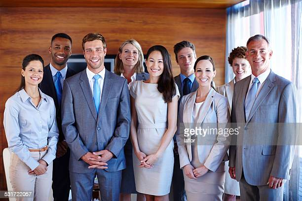 they are the best in their field - organized group photo stock pictures, royalty-free photos & images