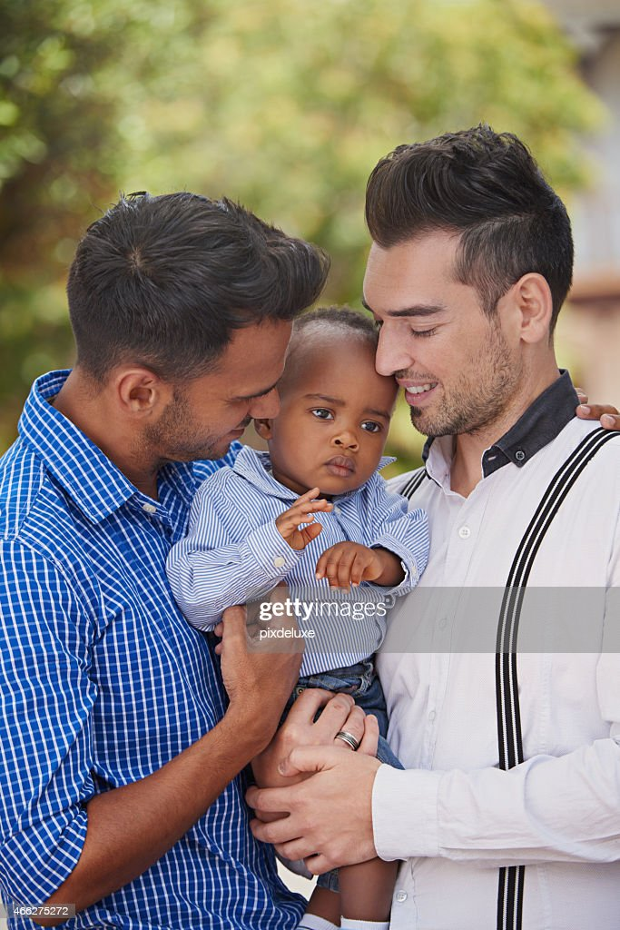 They are the best parents : Stock Photo