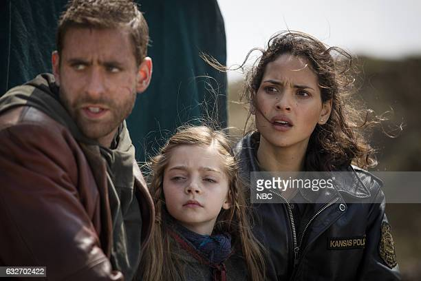 CITY 'They Came First' Episode 107 Pictured Oliver Jackson Cohen as Lucas Rebeka Rea as Sylive Adria Arjona as Dorothy