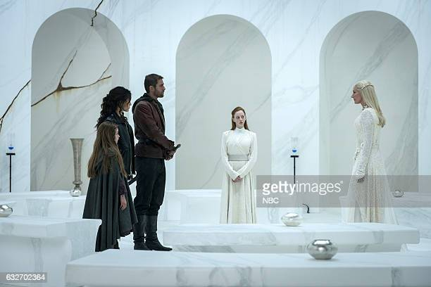 CITY 'They Came First' Episode 107 Pictured Rebeka Rea as Sylive Adria Arjona as Dorothy Oliver Jacskon Cohen as Lucas/Roan Joely Richardson as Glinda