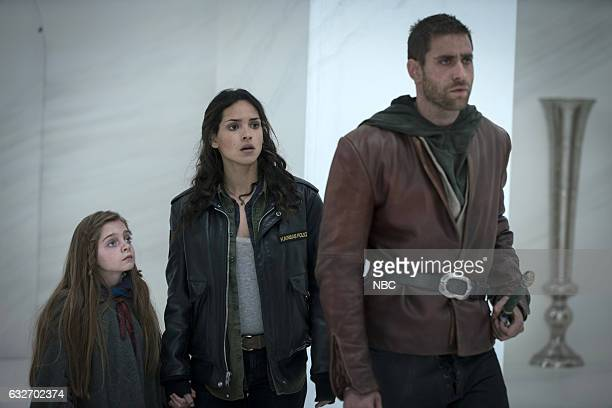 CITY 'They Came First' Episode 107 Pictured Rebeka Rea as Sylive Adria Arjona as Dorothy Oliver Jacskon Cohen as Lucas/Roan