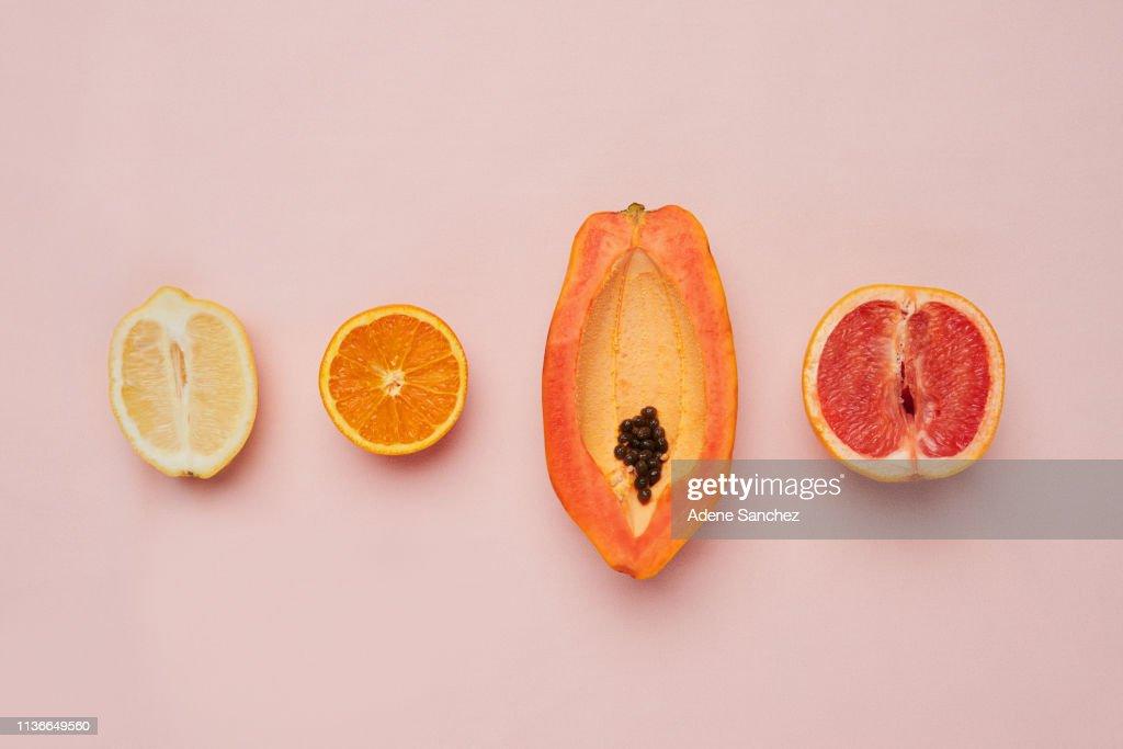 Ze komen in alle verschillende vormen en maten : Stockfoto