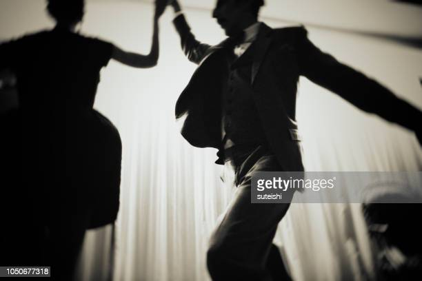 they dance till late at night - ballroom stock photos and pictures