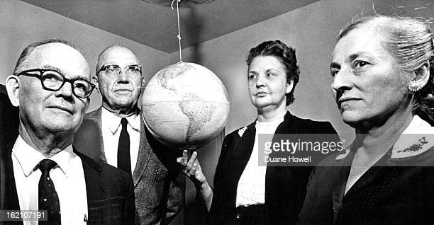 DEC 29 1962 They Foresee Drastic Changes In Familiar Globe The quartet above left homes and employment in the mid west to come to the comparative...