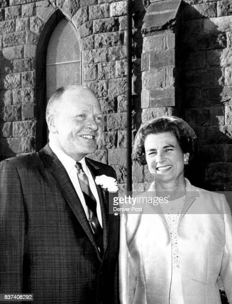They Gave Wedding Reception Mrand Mrs John Evans Jr entertained after the wedding of her daughter Mrs Ardeth Daly Barrows Credit Denver Post