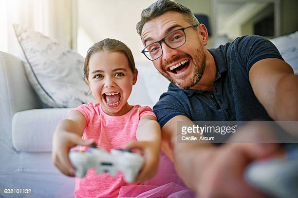 They get so excited when they play games