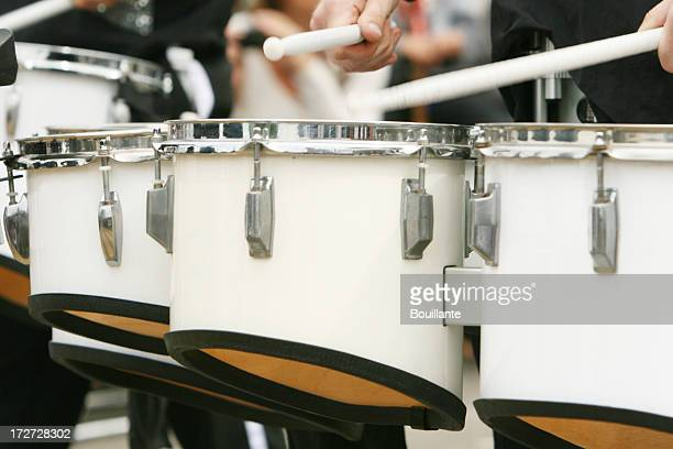 they go marchin'in - marching band stock pictures, royalty-free photos & images