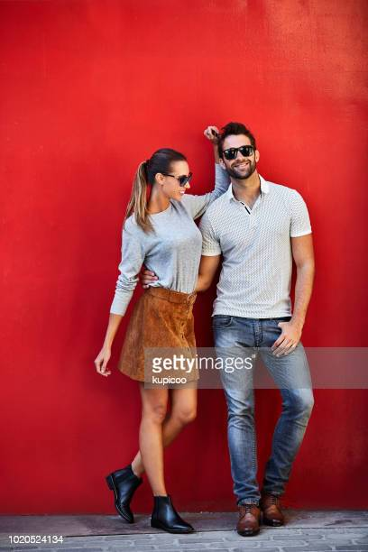 they go together like red lipstick and lips - fashionable stock pictures, royalty-free photos & images