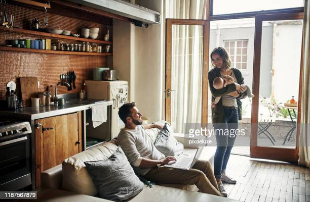 they have everything they could ever ask for - small apartment stock pictures, royalty-free photos & images