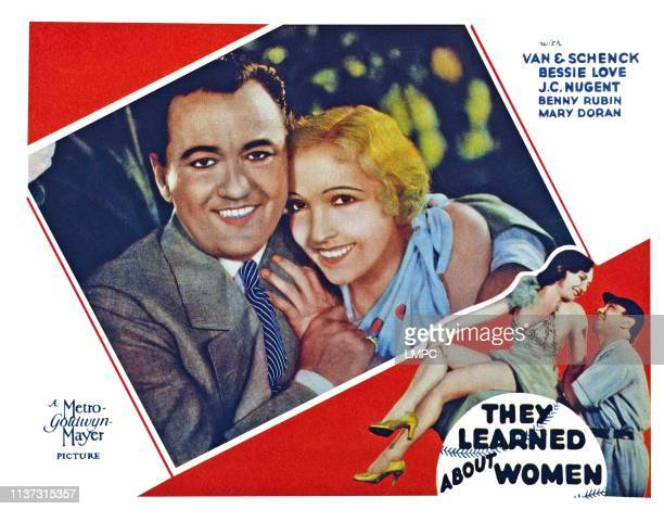 They Learned About Women US lobbycard from left Joe Schenck Bessie Love 1930