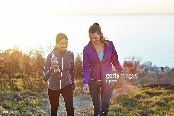they love getting outdoors! - sportswear stock pictures, royalty-free photos & images