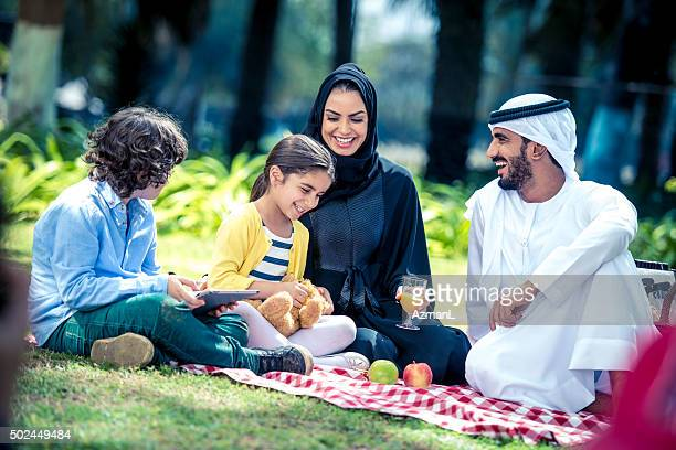 they love sunday afternoons - united arab emirates stock pictures, royalty-free photos & images