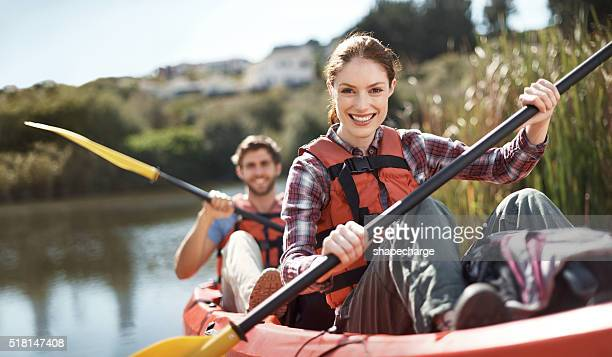 Sie lieben die Fluss Abenteuer
