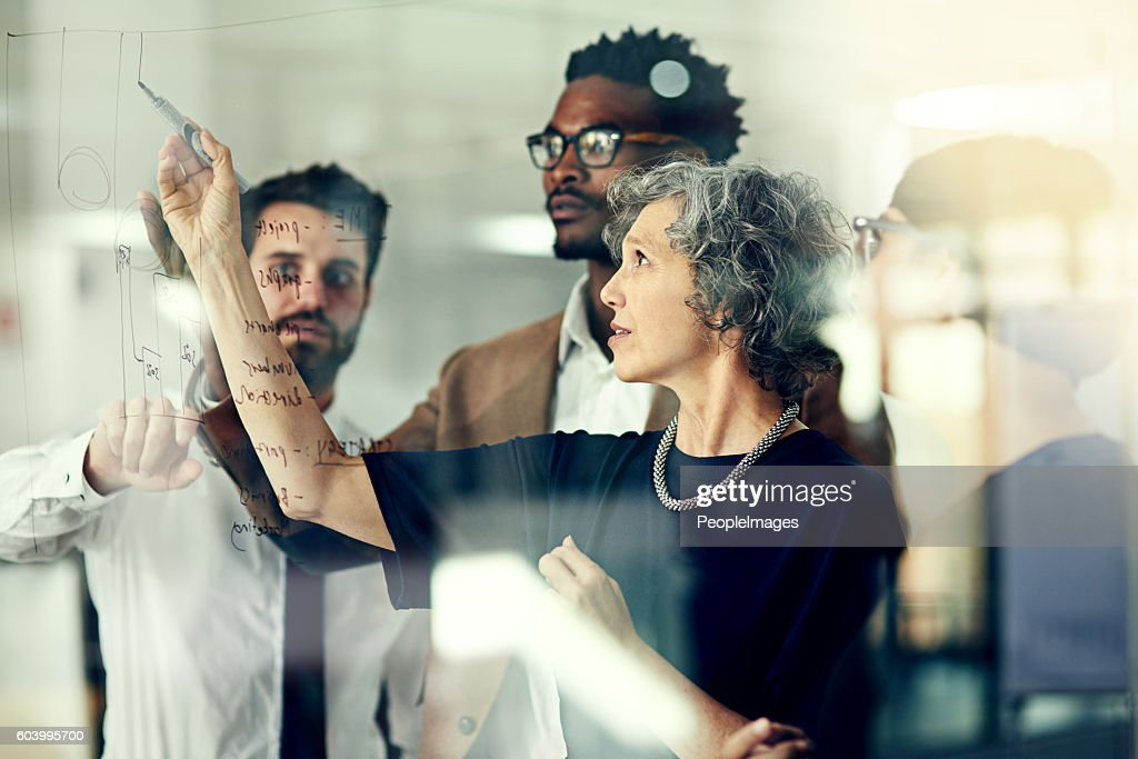 They never fall short of big ideas : Stock Photo